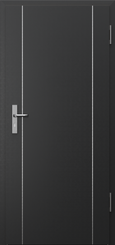 Drzwi techniczne INNOVO 42dB Intarsje 1