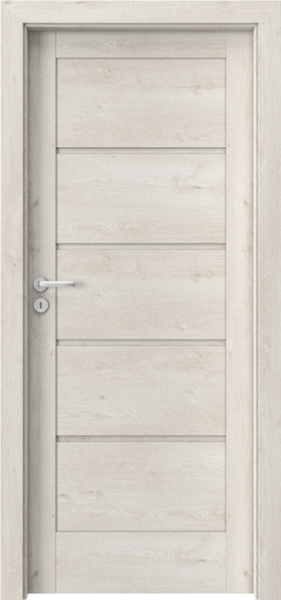 Drzwi wewnętrzne Porta VERTE HOME, G G.0 Okleina Portaperfect 3D **** Dąb Skandynawski