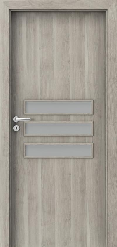 Drzwi wewnętrzne Porta FIT E.3 Okleina Portasynchro 3D *** Akacja Srebrna