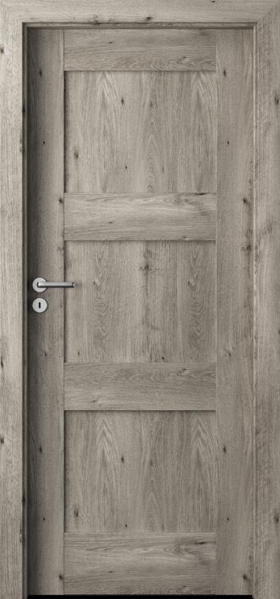 Drzwi wewnętrzne Porta VERTE PREMIUM, B B.0 Okleina Portaperfect 3D **** Dąb Syberyjski