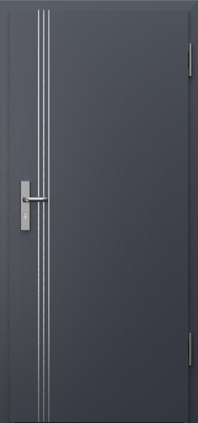Drzwi techniczne INNOVO 42dB Intarsje 3