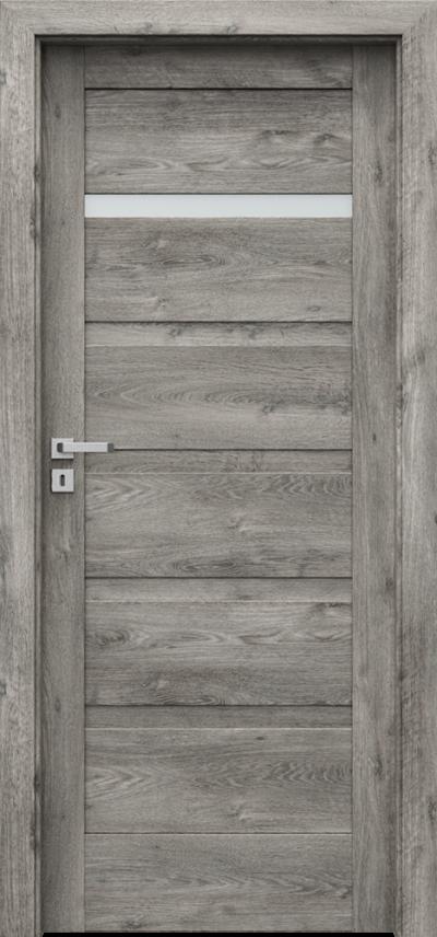 Drzwi wewnętrzne Porta VERTE HOME, H H.1 Okleina Portaperfect 3D **** Dąb Syberyjski