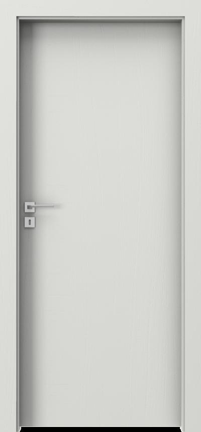 Drzwi wewnętrzne Villadora MODERN Line Okleina Naturalna Dąb Satin **** Dąb Biały