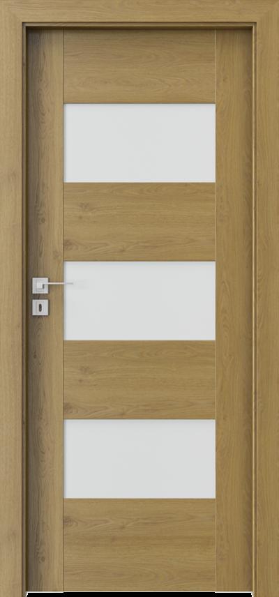Drzwi wewnętrzne Porta KONCEPT K.3 Okleina Portaperfect 3D **** Dąb Naturalny