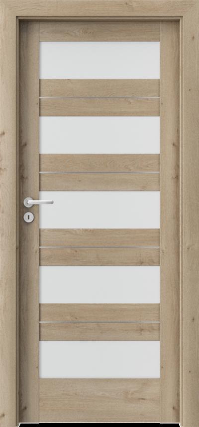 Drzwi wewnętrzne Porta VERTE HOME C.5 intarsje
