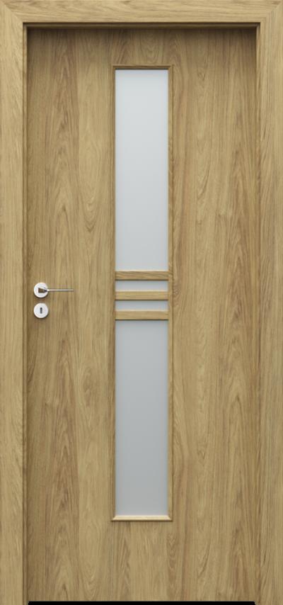 Drzwi wewnętrzne Porta STYL 1 Okleina CPL HQ 0,2 ***** Hikora Naturalna