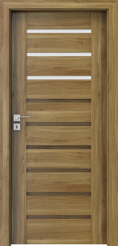 Interior doors Porta CONCEPT A.3 Portasynchro 3D veneer *** Honey Acacia