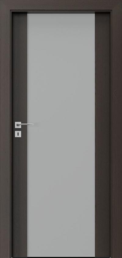 Drzwi wewnętrzne Villadora MODERN SpaceS03 Okleina Naturalna Select **** Orzech Ciemny