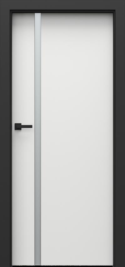 Drzwi wewnętrzne Porta LOFT 4.A Okleina CPL HQ 0,2 ***** Biały