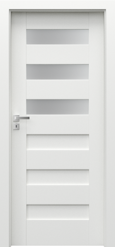 Drzwi wewnętrzne Porta KONCEPT C.4 Okleina Premium **** Biały Premium