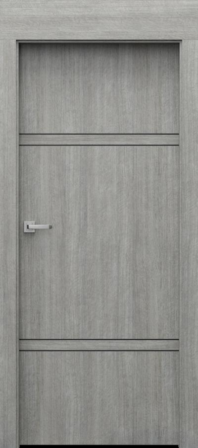 Drzwi wewnętrzne Porta LEVEL C.3 Portalamino**** Dąb Srebrzysty
