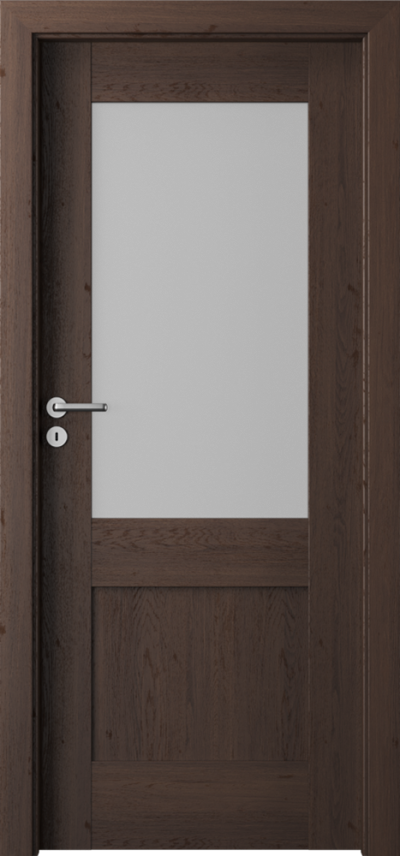 Drzwi wewnętrzne Porta VERTE PREMIUM, C C.1 Okleina Portaperfect 3D **** Dąb Hawana