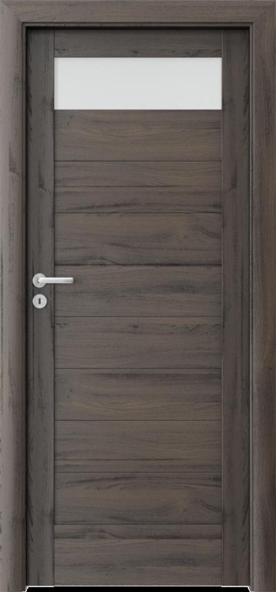Drzwi wewnętrzne Porta VERTE HOME, C C.1 Okleina Portasynchro 3D *** Dąb Ciemny