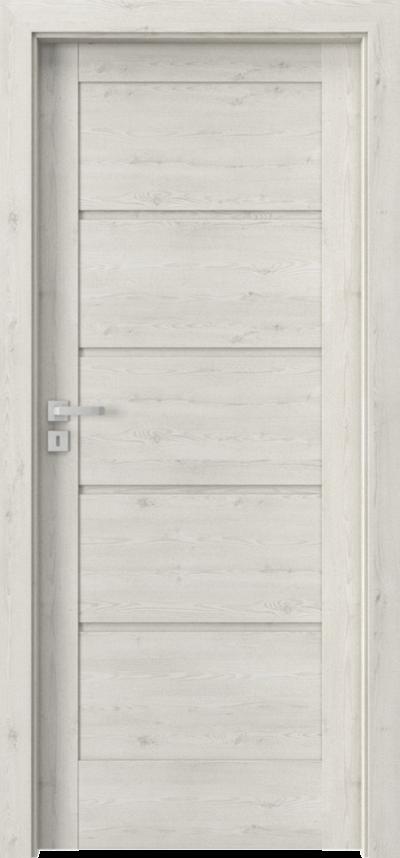 Drzwi wewnętrzne Porta VERTE HOME, G G.0 Okleina Portasynchro 3D *** Sosna Norweska