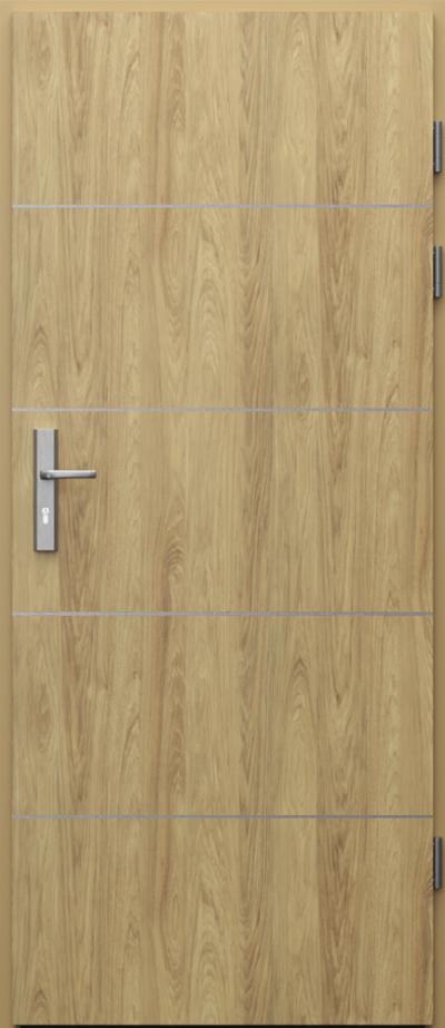 Podobne produkty                                  Drzwi techniczne                                  Akustyczne 27dB z ośc. metal + intarsje 6 CPL HQ