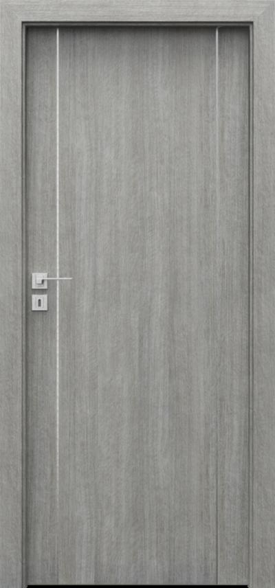Drzwi wewnętrzne Porta LINE A.1 Portalamino**** Dąb Srebrzysty