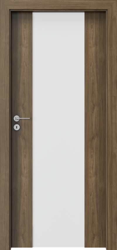 Drzwi wewnętrzne Porta FOCUS 4.B Okleina CPL HQ 0,2 ***** Orzech Naturalny (matowy)