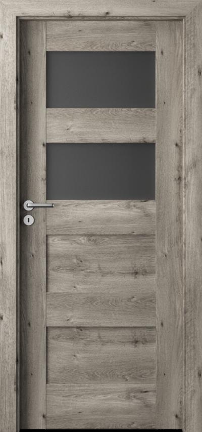 Drzwi wewnętrzne Porta VERTE PREMIUM, A A.2 Okleina Portaperfect 3D **** Dąb Syberyjski