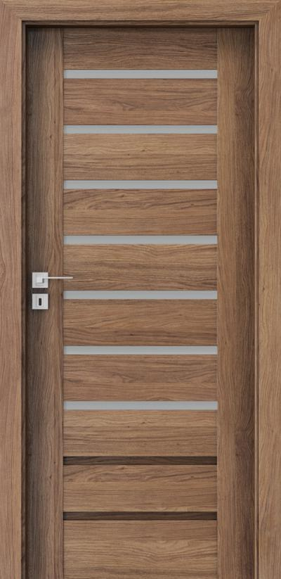Drzwi wewnętrzne Porta KONCEPT A.7 Okleina Portaperfect 3D **** Dąb Kalifornia