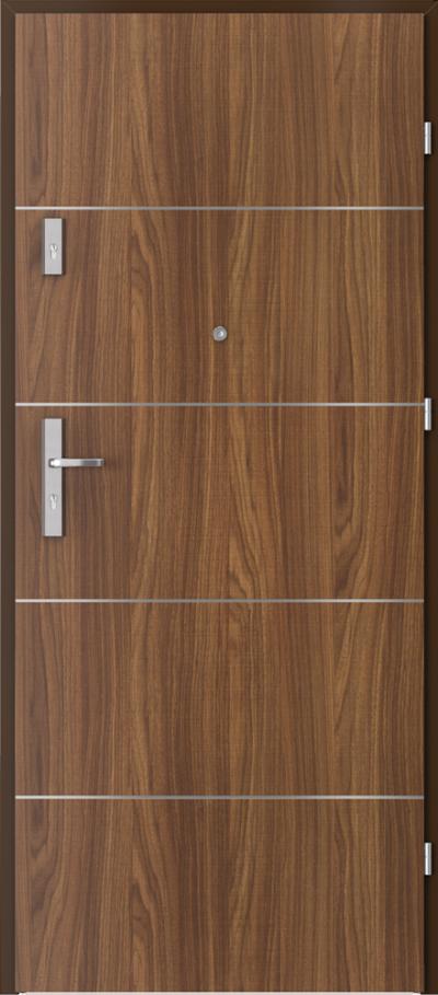 Drzwi wejściowe do mieszkania OPAL Plus intarsje 6