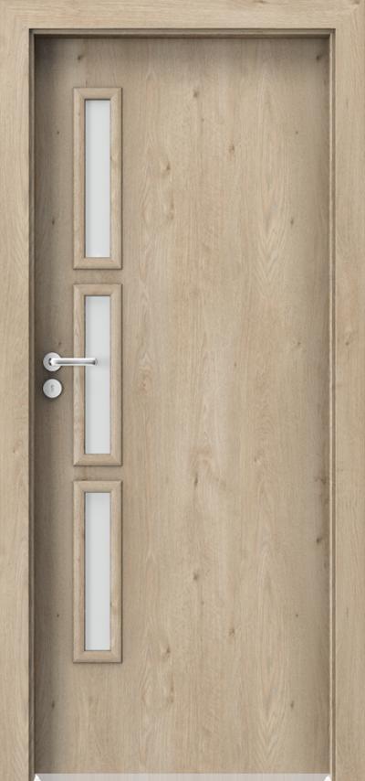 Interiérové dveře Porta GRANDDECO 6.2 Fólie Portaperfect 3D **** Dub Klasický