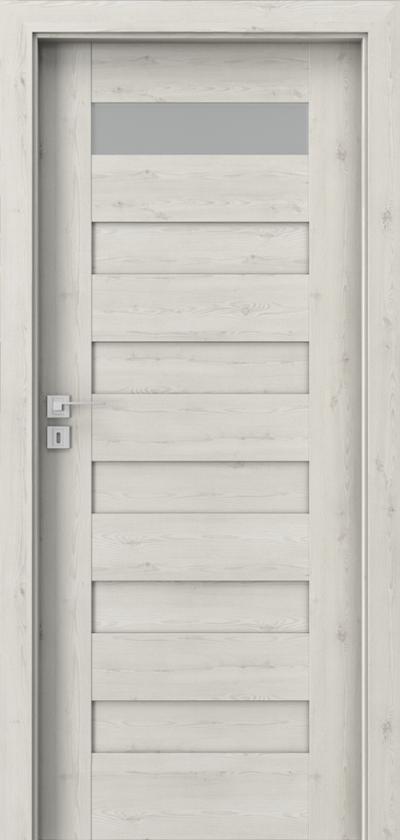 Drzwi wewnętrzne Porta KONCEPT C.1 Okleina Portasynchro 3D *** Sosna Norweska