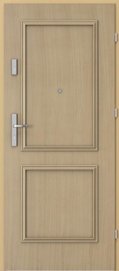 Drzwi wejściowe do mieszkania OPAL Plus ramka 1