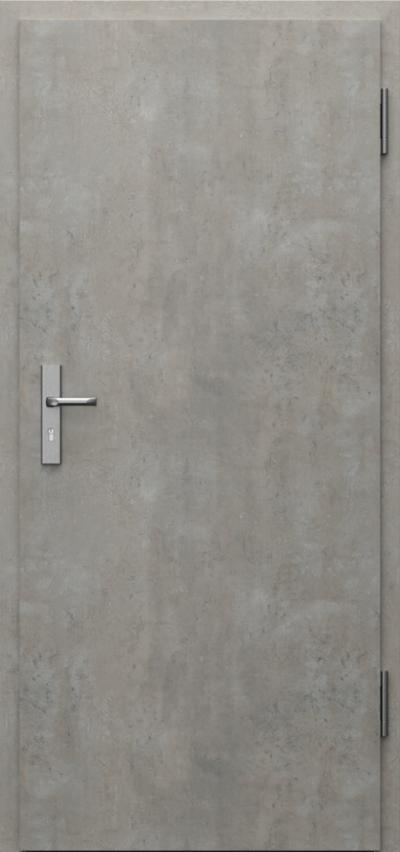 Technical doors INNOVO 37 dB  CPL HQ 0,7 laminate ****** Concrete light