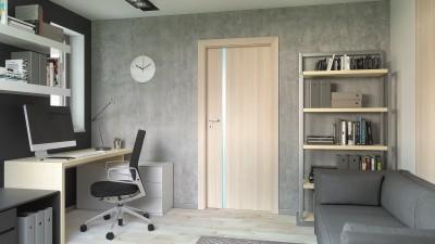 Drzwi wewnętrzne Porta FOCUS 4.A Okleina Portadecor *** Orzech Bielony