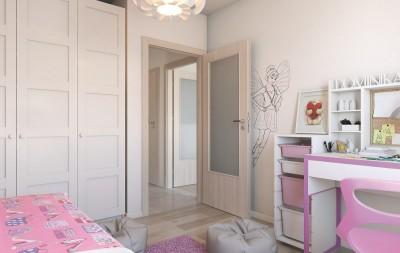 Drzwi wewnętrzne Porta DECOR P Okleina Portadecor *** Orzech Bielony