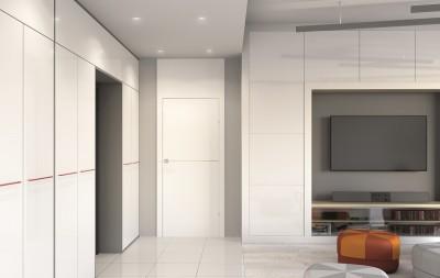 Drzwi wewnętrzne Porta DESIRE model 3 Farba Akrylowa UV ***** Biały