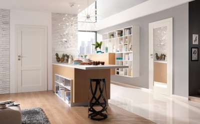 Drzwi wewnętrzne Porta GRANDE C.0 Farba Akrylowa UV ***** Biały